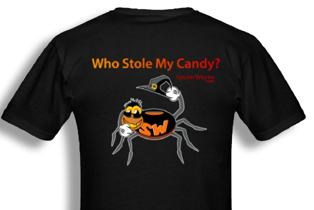 SpiderWayne T-Shirt Store Halloween