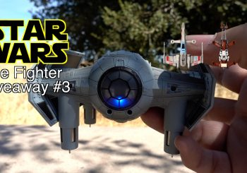 Drones – Star Wars Tie Fighter Drone Giveaway
