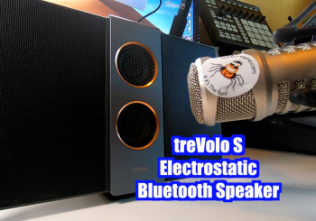 BenQ treVolo S Electrostatic Bluetooth Speaker